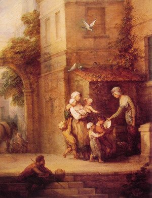Thomas Gainsborough - Charity relieving Distress