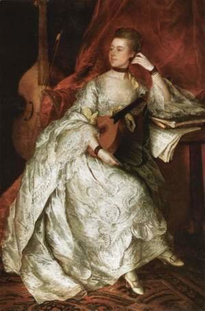 Thomas Gainsborough - Ann Ford (Mrs Philip Thicknesse)