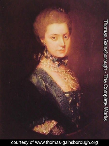 Thomas Gainsborough - Elizabeth Wrottesley