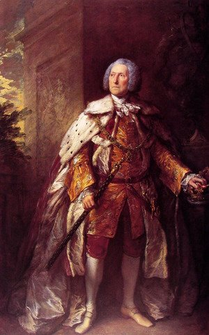 Thomas Gainsborough - John, fourth Duke of Argyll