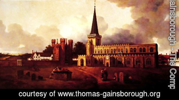 Thomas Gainsborough - St. Mary's Church, Hadleigh