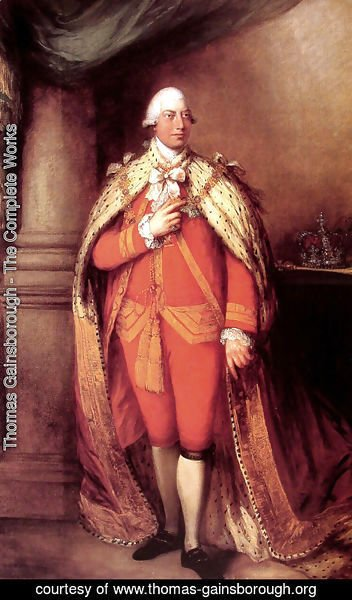 Thomas Gainsborough - King George III