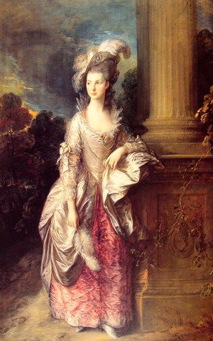 Thomas Gainsborough - Mrs Graham