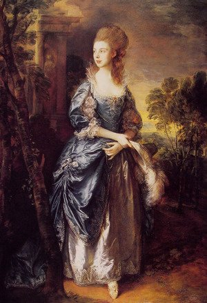 Thomas Gainsborough - The Honourable Frances Duncombe