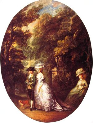 Thomas Gainsborough - The Duke and Duchess of Cumberland