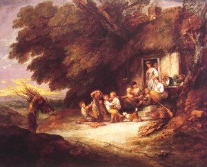 Thomas Gainsborough - The Cottage Door
