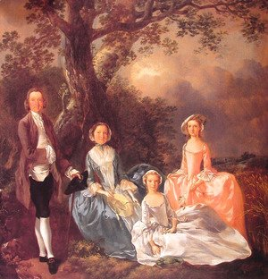 Thomas Gainsborough - The Gravenor Family