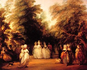 Thomas Gainsborough - The Mall