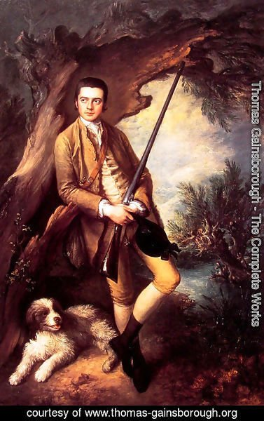 Thomas Gainsborough - William Poyntz