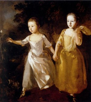 Thomas Gainsborough - Painter's Daughters