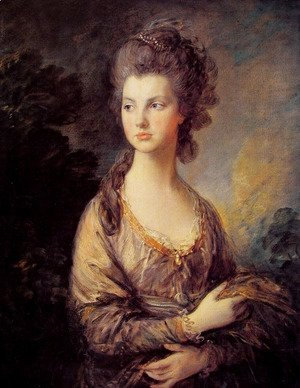 Thomas Gainsborough - Mrs Graham I