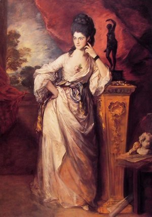 Thomas Gainsborough - Lady Ligonier
