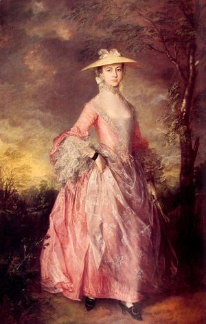 Thomas Gainsborough - Mary, Countess of Howe