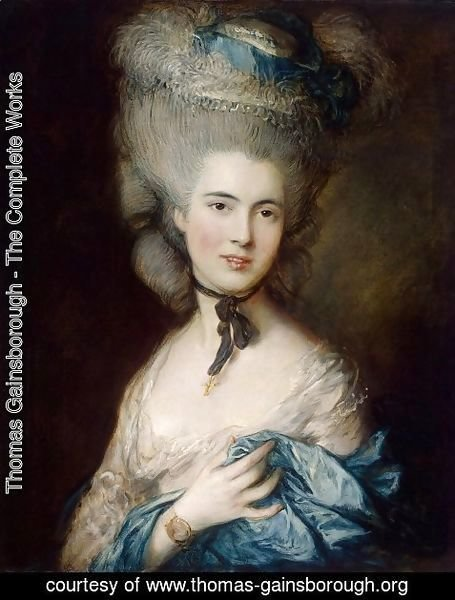 Thomas Gainsborough - Duchess of Beaufort