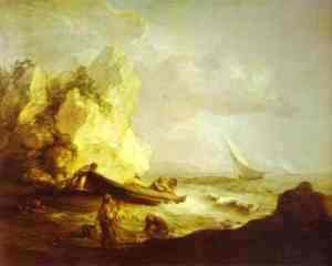 Thomas Gainsborough - Seascape