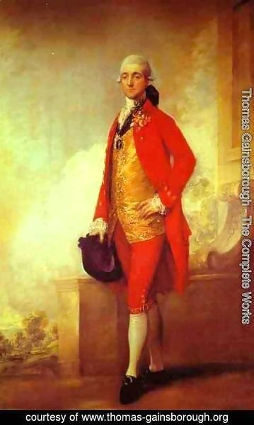 Thomas Gainsborough - Captain William Wade