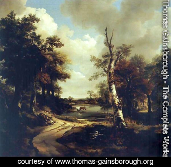 Thomas Gainsborough - Drinkstone Park