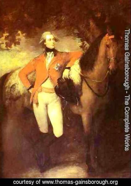 Thomas Gainsborough - George. Prince of Wales