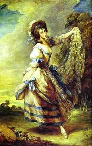 Thomas Gainsborough - Giovanna Baccelli
