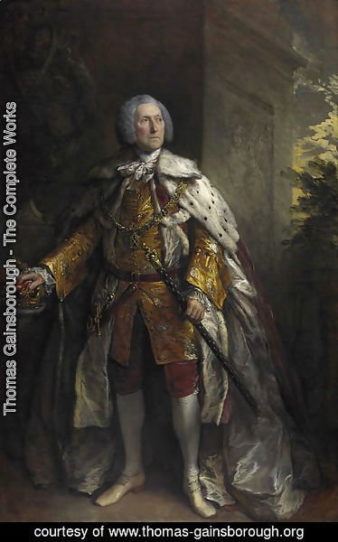 Thomas Gainsborough - John Campbell, 4th Duke of Argyll
