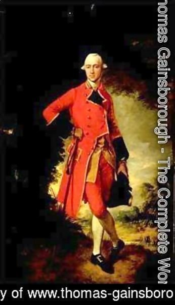 Thomas Gainsborough - Lieutenant. Colonel Edmund Nugent