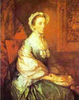 Thomas Gainsborough - Mary Duchess of Montagu