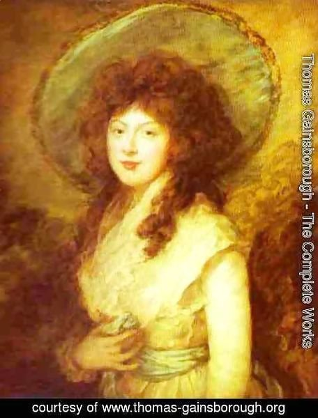 Thomas Gainsborough - Miss Catherine Tatton
