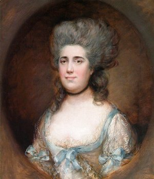 Thomas Gainsborough - Miss Elisabeth Anne Gosset (1740-1804)