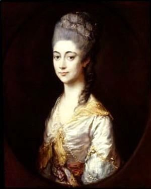Thomas Gainsborough - Miss Montagu