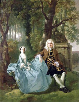 Thomas Gainsborough - Mr and Mrs Carter of Bullingdon House