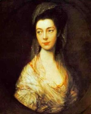 Thomas Gainsborough - Mrs. Christopher Horton later Anne Duchess of Cumberland