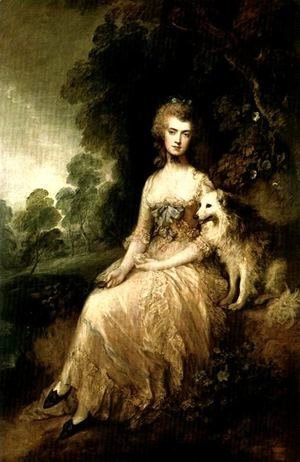 Thomas Gainsborough - Mrs. Perdita Robinson