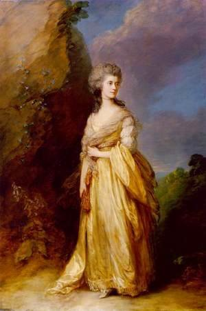 Thomas Gainsborough - Mrs. Peter William Baker