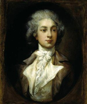 Thomas Gainsborough - Portrait of French dancer Auguste Vestris