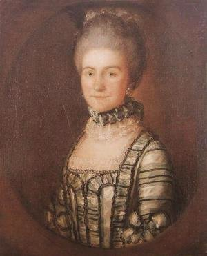 Thomas Gainsborough - Portrait of Mrs. John Bolton