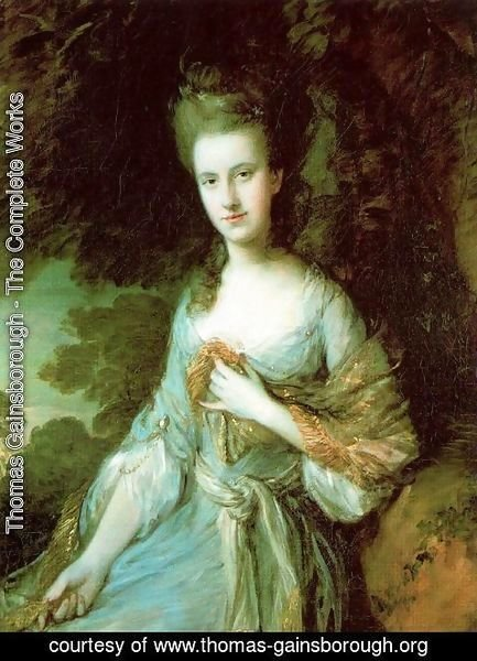 Thomas Gainsborough - Sara Buxton