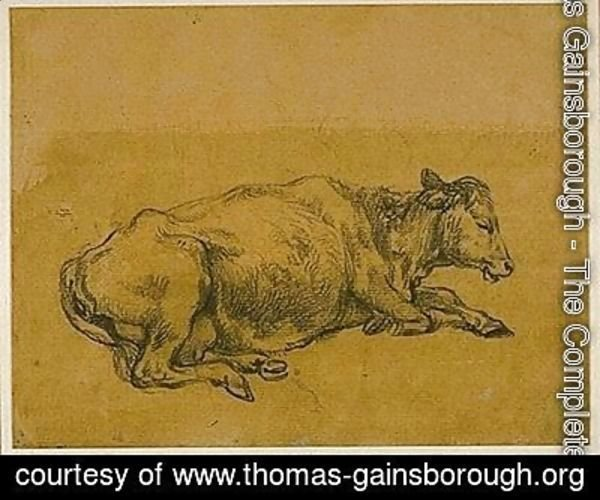 Thomas Gainsborough - Study of a Cow