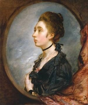 Thomas Gainsborough - The Artist's Daughter Margaret