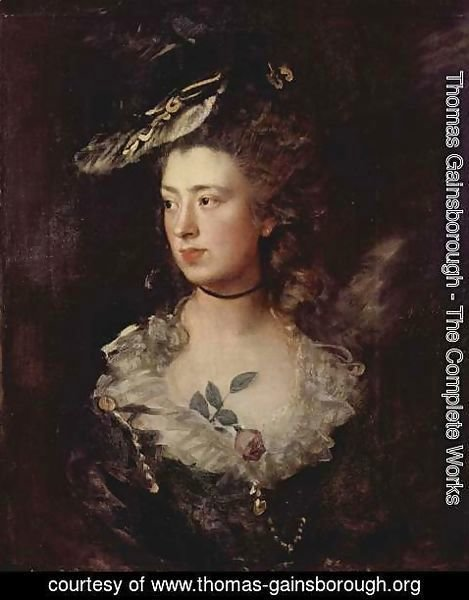 Thomas Gainsborough - The Artist's Daughter Mary