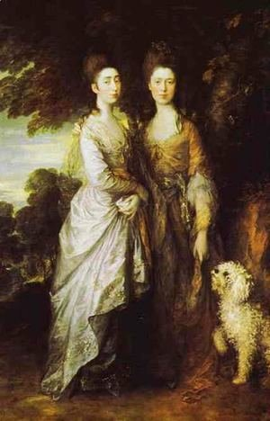Thomas Gainsborough - The Artist's Daughters