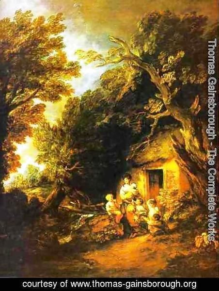 Thomas Gainsborough - The Cottage Door 2 & Thomas Gainsborough - The Complete Works - The Cottage Door 2 ...