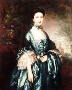 Thomas Gainsborough - Miss Theodosia Magill Countess Clanwilliam