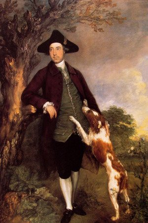 Thomas Gainsborough - Portrait of George Venables Vernon 2nd Lord Vernon