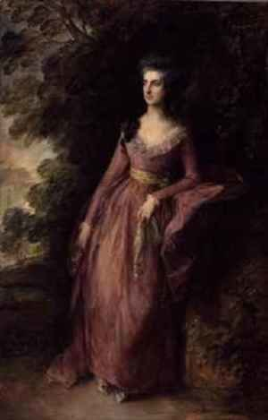 Thomas Gainsborough - Mrs Hamilton Nisbet
