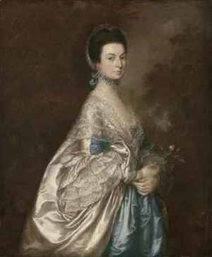 Thomas Gainsborough - Mrs Edmund Morton Pleydell
