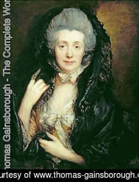 Thomas Gainsborough - Margaret Gainsborough
