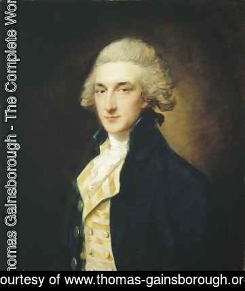 Thomas Gainsborough - Sir John Edward Swinburne