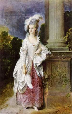 Thomas Gainsborough - The Hon Mrs Graham