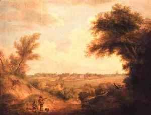 Thomas Gainsborough - Landscape with a Ruined Castle