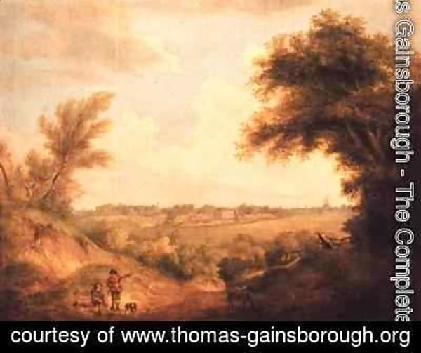 Thomas Gainsborough - Landscape with house